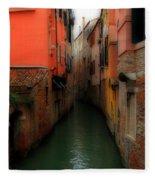 Venice Canals 2 Fleece Blanket