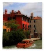 Venice Canals 7 Fleece Blanket