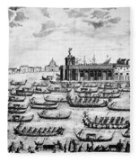 Venice: Grand Canal Fleece Blanket