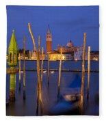 Venice Night Fleece Blanket