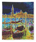 Venice Venezia Glow Fleece Blanket