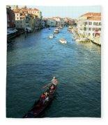Venice View Fleece Blanket