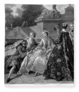 Versailles: Court Life Fleece Blanket