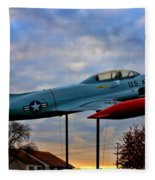 Vfw F-80 Shooting Star Fleece Blanket