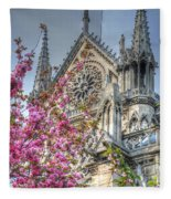 Vibrant Cathedral Fleece Blanket