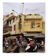 Vibrant Hanoi Fleece Blanket