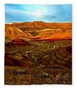 Vibrant Hills Fleece Blanket