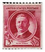 Victor Herbert Postage Stamp Fleece Blanket