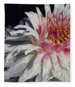 Victoria Water Lily Fleece Blanket