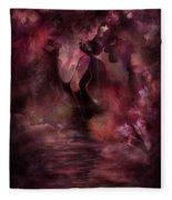 Victorian Dreams Fleece Blanket
