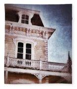 Victorian House Fleece Blanket