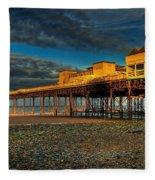 Victorian Pier Fleece Blanket