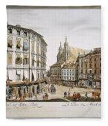 Vienna, 1779 Fleece Blanket