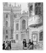 Vienna: Hofburgtheater Fleece Blanket