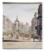 Vienna: Hohemarkt, 1793 Fleece Blanket