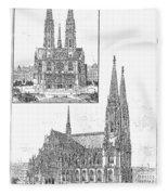 Vienna: Votive Church Fleece Blanket