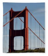 View By The Bay Fleece Blanket