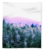 View From Paradise Farm Fleece Blanket