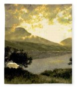 View Of Ben Bulben Fleece Blanket