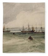 View Of Sheerness Fleece Blanket