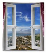 View To The World Fleece Blanket