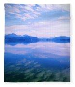 Vignette Lake Pend Orille  Fleece Blanket