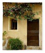 Village House In Bormes Fleece Blanket