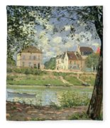 Villeneuve La Garenne Fleece Blanket