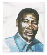 Vincent Mulago Fleece Blanket