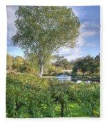 Vines And Trees Fleece Blanket