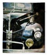 Vintage Ford Fleece Blanket
