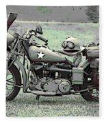 Vintage Iron Fleece Blanket