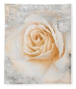 Vintage Rose II Fleece Blanket