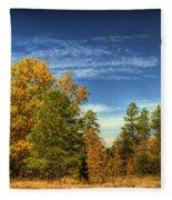 Visions Of Fall  Fleece Blanket