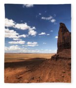 Visions Of Monument Valley  Fleece Blanket