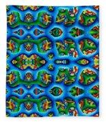 Vital Network I Design Fleece Blanket