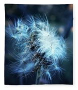 Voice Of A Thistle Fleece Blanket