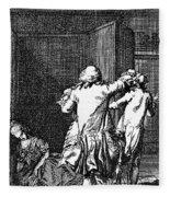 Voltaire: Candide Fleece Blanket