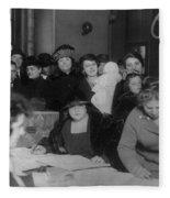 Voting Poll, 1922 Fleece Blanket