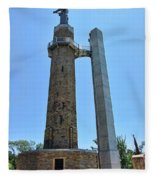 Vulcan Park Statue Birmingham Alabama Usa Fleece Blanket