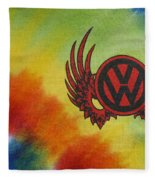 Vw Club Logo Fleece Blanket