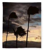 Wa'alaea Sunrise Fleece Blanket
