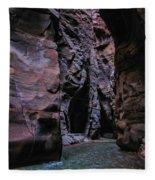 Wadi Mujib Jordan Fleece Blanket