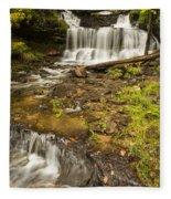 Wagner Falls 4 Fleece Blanket