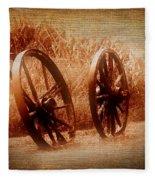 Wagon Wheels Fleece Blanket