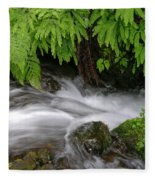 Wahkeena Falls One Fleece Blanket