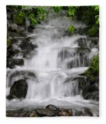 Wahkeena Falls Two Fleece Blanket