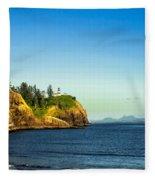 Waikiki Beach Fleece Blanket
