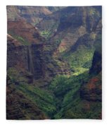 Waimea Canyon 2 Fleece Blanket