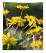 Waking Up To Sunshine Fleece Blanket